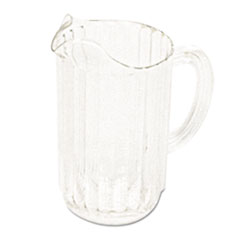 RCP 3337CLE Rubbermaid  Commercial Bouncer  Plastic Pitcher RCP3337CLE