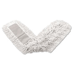 RCP K15212WHI Rubbermaid Commercial Kut-A-Way Dust Mop Head RCPK15212WHI
