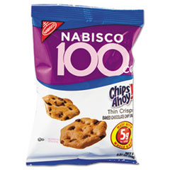 CDB 05343 Nabisco Chips Ahoy 100 Calorie Packs Cookies CDB05343
