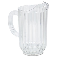 RCP 3335CLE Rubbermaid Commercial Bouncer Plastic Pitcher RCP3335CLE