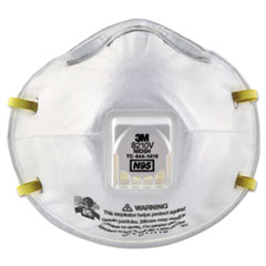 MMM 8210V 3M Particulate Respirator 8210V, N95 with 3M Cool Flow Valve MMM8210V