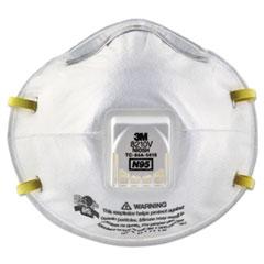MMM 8210V 3M Particulate Respirator 8210V, N95 with 3M Cool Flow Valve MMM8210V