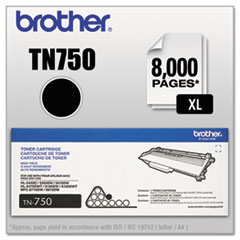 TN750 High-Yield Toner, Black