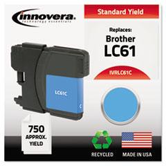 IVR LC61C Innovera LC61BK, LC61C, LC61M, LC61Y Ink IVRLC61C