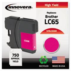 IVR LC65M Innovera LC65BK, LC65C, LC65M, LC65Y Ink IVRLC65M