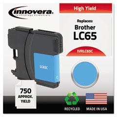 IVR LC65C Innovera LC65BK, LC65C, LC65M, LC65Y Ink IVRLC65C