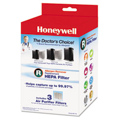 HWL HRFR3 Honeywell Allergen Remover Replacement HEPA Filters HWLHRFR3