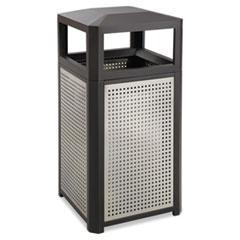 SAF 9932BL Safco Mayline Evos Series Steel Waste Container SAF9932BL