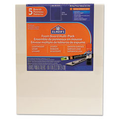 EPI 950020 Elmer's White Pre-Cut Foam Board Multi-Packs EPI950020