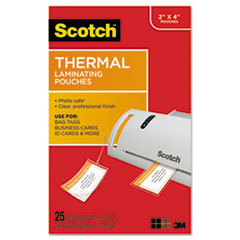MMM TP585325 Scotch Laminating Pouches MMMTP585325