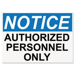 USS 5492 Headline OSHA Safety Signs USS5492