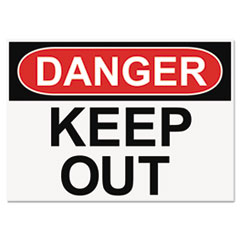 USS 5491 Headline OSHA Safety Signs USS5491