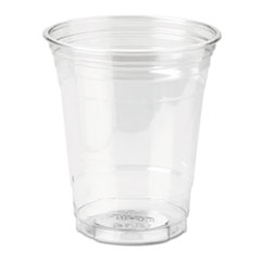 DXE CP12DX Dixie Clear Plastic PETE Cups DXECP12DX