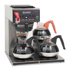 BUN CWTF153LP BUNN CWTF-3 Three Burner Automatic Coffee Brewer BUNCWTF153LP