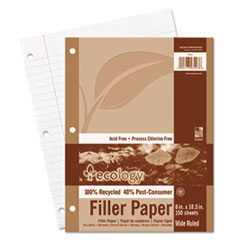 PAC 3203 Pacon Ecology Filler Paper PAC3203
