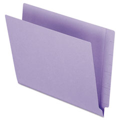 PFX H110DPR Pendaflex Colored End Tab Folders with Reinforced Double-Ply Straight Cut Tabs PFXH110DPR