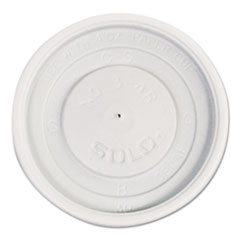 SCC VL34R0007 Dart Polystyrene Plastic Vented Hot Cup Lids SCCVL34R0007