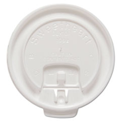 SCC DLX10RPK Dart Lift Back & Lock Tab Cup Lids For Trophy Insulated Thin-Wall Foam Hot/Cold Cups SCCDLX10RPK