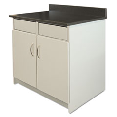 AAP BR104GY Alera Plus Hospitality Base Cabinet AAPBR104GY