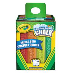CYO 512016 Crayola Washable Sidewalk Chalk CYO512016