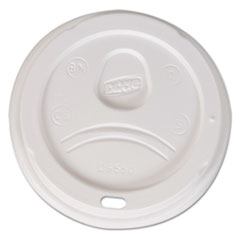 DXE D9550CT Dixie Sip-Through Dome Hot Drink Lids DXED9550CT