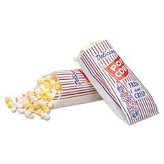 BGC 300471 Bagcraft Pinch-Bottom Paper Popcorn Bag BGC300471