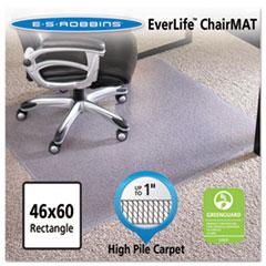 ESR 124377 ES Robbins EverLife Intensive Use Chair Mat for High to Extra-High Pile Carpet ESR124377