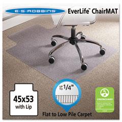 ESR 120123 ES Robbins EverLife Light Use Chair Mat for Flat Pile Carpet ESR120123