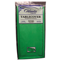 ATL 2TCG10812 Atlantis Plastics Plastic Table Cover ATL2TCG10812