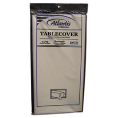ATL 2TCW10812 Atlantis Plastics Plastic Table Cover ATL2TCW10812