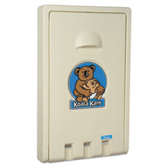 KKP KB10100 Koala Kare Standard Vertical Baby Changing Station KKPKB10100
