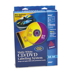 AVE 8965 Avery CD/DVD Design Labeling Kits AVE8965