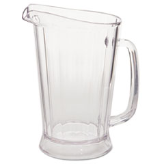 RCP 3331CLE Rubbermaid Commercial Bouncer Plastic Pitcher RCP3331CLE