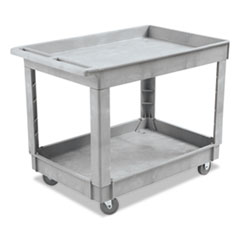 BWK 4024UCGRA Boardwalk Two-Shelf Utility Cart BWK4024UCGRA