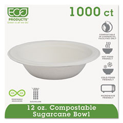 ECO EPBL12 Eco-Products Sugarcane Dinnerware ECOEPBL12