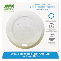 ECO EPHL8WR Eco-Products EcoLid 25% Recycled Content ECOEPHL8WR