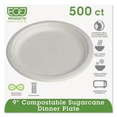 ECO EPP013 Eco-Products Sugarcane Dinnerware ECOEPP013