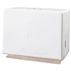 GPC 56701 Georgia Pacific Space Saver Singlefold Paper Towel Dispenser GPC56701