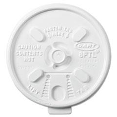 DCC 8FTL Dart Lift n' Lock Plastic Hot Cup Lids DCC8FTL