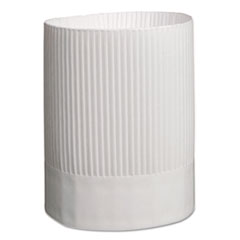 RPP SCH9 Royal Stirling Fluted Chef's Hats RPPSCH9