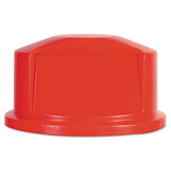 RCP 263788RED Rubbermaid Commercial Round Brute Dome Top RCP263788RED
