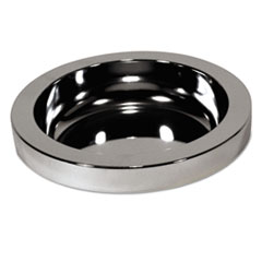 RCP 2588CHR Rubbermaid Commercial Ashtray Top for Smoking Urns RCP2588CHR