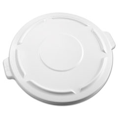 RCP 264560WHI Rubbermaid Commercial Vented Round Brute Lid RCP264560WHI