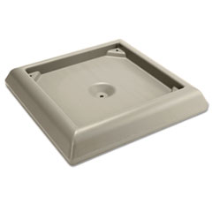 RCP 9177BEI Rubbermaid Commercial Weighted Base Accessory for Ranger Container RCP9177BEI