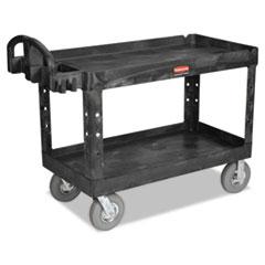 RCP 4546BLA Rubbermaid Commercial Heavy-Duty Utility Cart RCP4546BLA