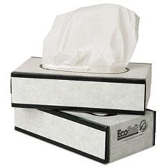 WAU 15000 Wausau Paper EcoSoft Facial Tissue WAU15000