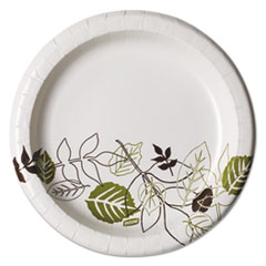 DXE UX9PATHPK Dixie Pathways Soak-Proof Shield Mediumweight Paper Plates DXEUX9PATHPK