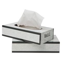 WAU 13000 Wausau Paper EcoSoft Facial Tissue WAU13000
