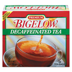 BTC 00356 Bigelow Single Flavor Tea Bags BTC00356