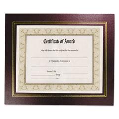 NUD 21200 NuDell Leather Grain Certificate Frame NUD21200